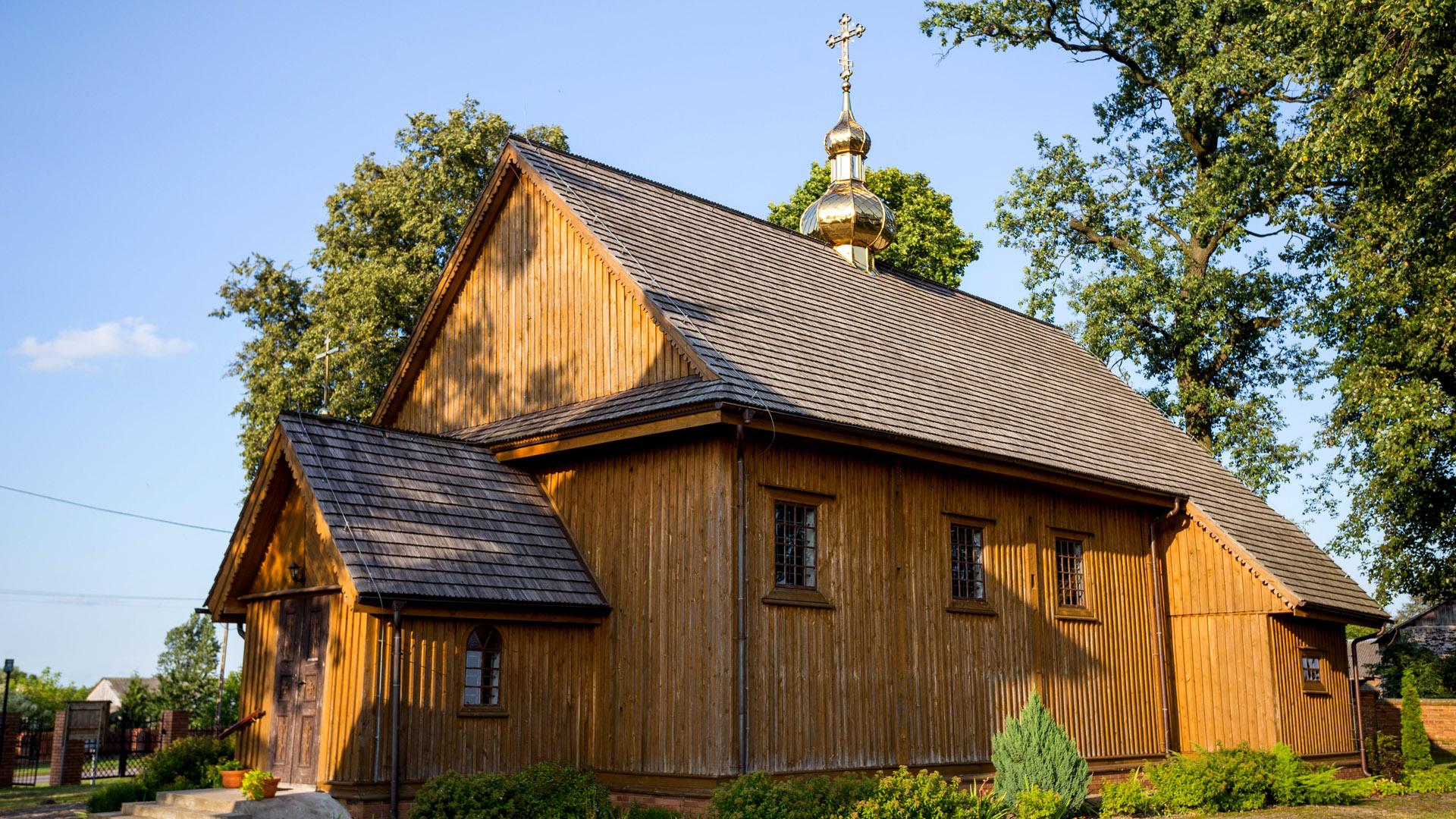 Cerkiew Prawosławna Podwyższenia Krzyża Pańskiego w Horostycie