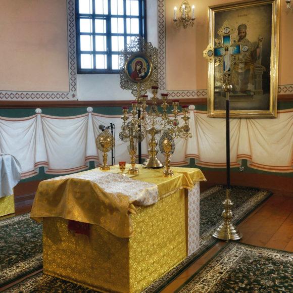 Cerkiew prawosławna św. św. Apostołów Piotra i Pawła w Sosnowicy